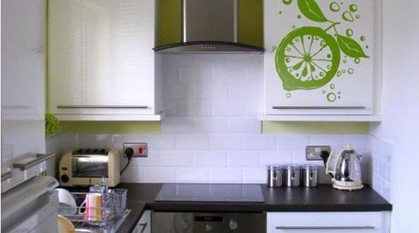 маленькая кухня 3 кв м дизайн фото