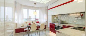 Дизайн кухни 13 кв м фото