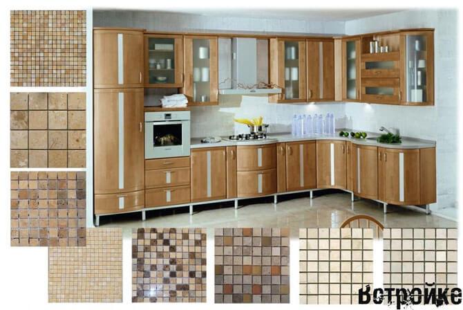 Дизайн плитки на кухню