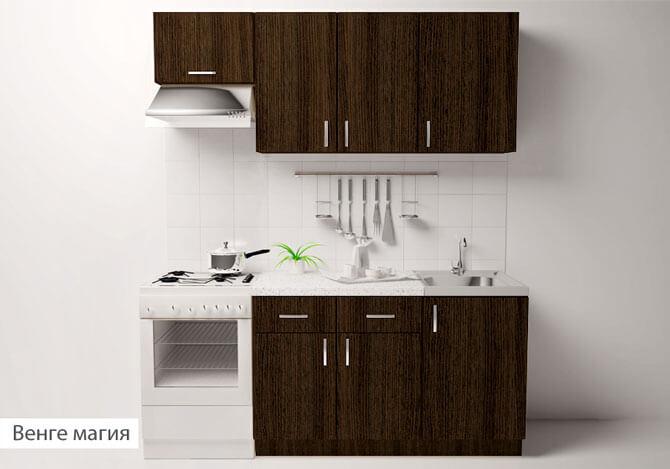 наборная мебель для кухни эконом