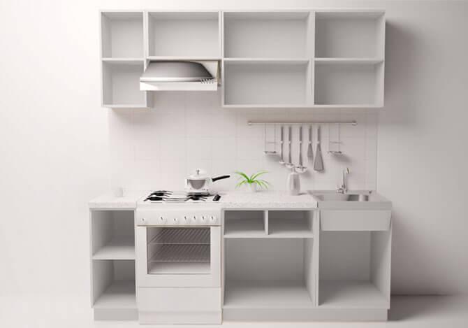 мебель для кухни эконом