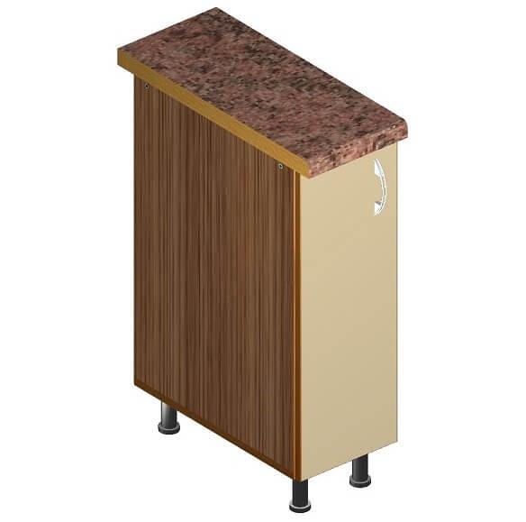 Кухонный нижний модуль 260 х 600 х 820
