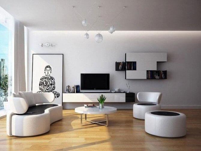 Круглые кресла для гостиной