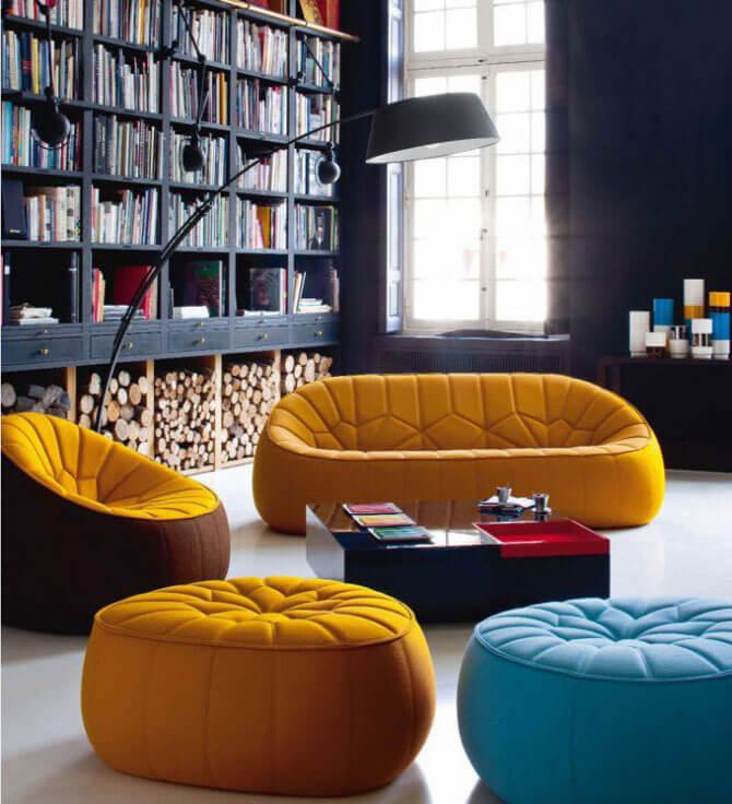 Необычные кресла для гостиной