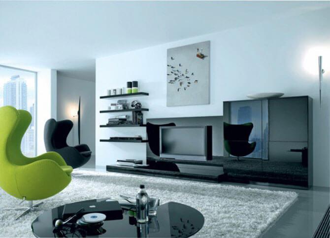 Легкие кресла для гостиной