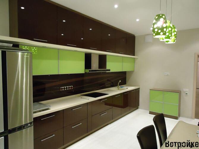 Крашенные кухонные фасады МДФ