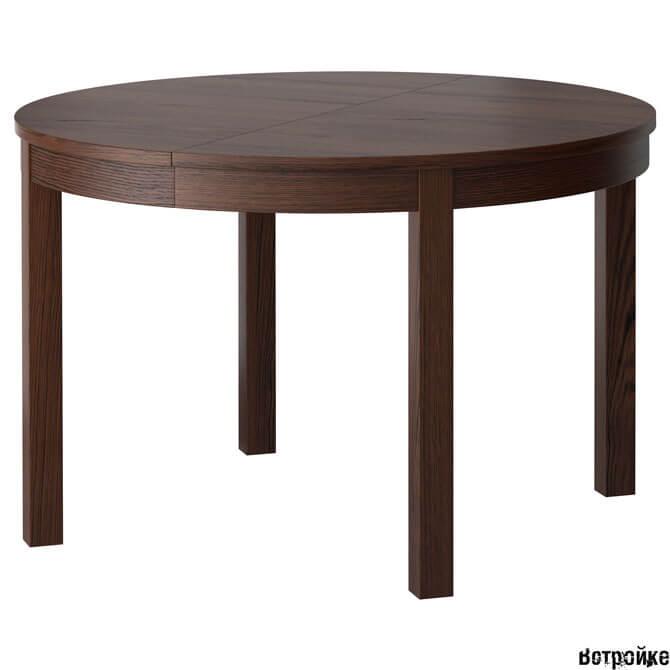 Круглый стол Икеа