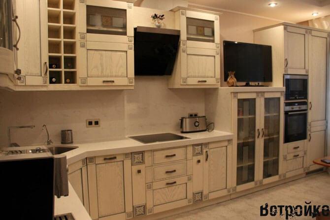 Фасады для кухни из массива