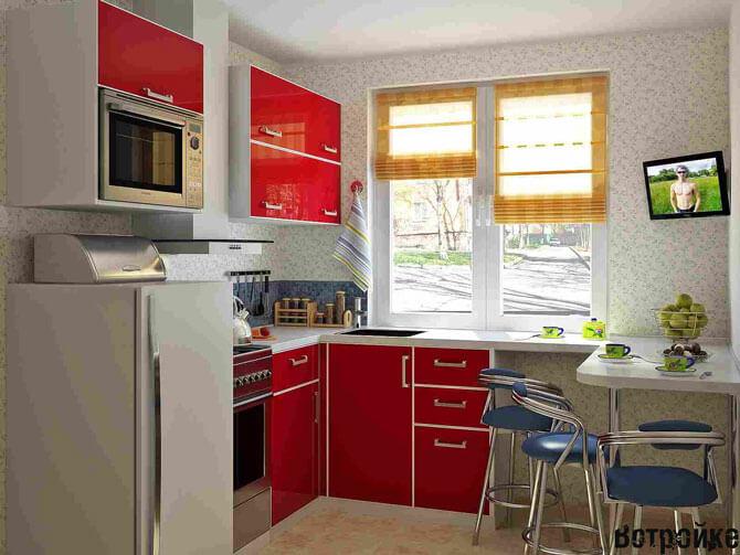 Стол стойка для кухни