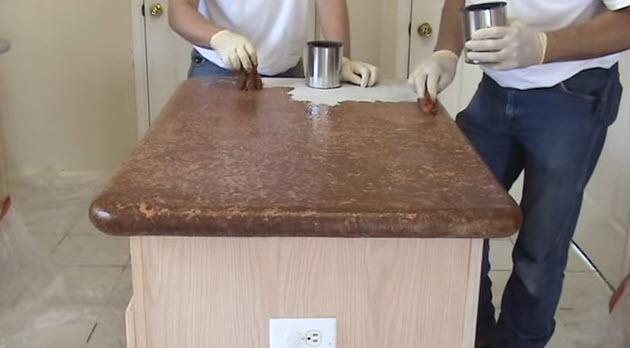 Столешница своими руками под мрамор