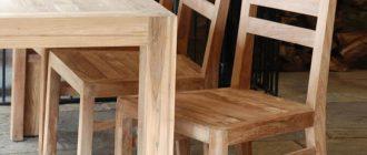 Деревянные стулья для кухни фото