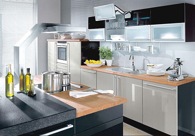 Кухня в стиле техно фото 2