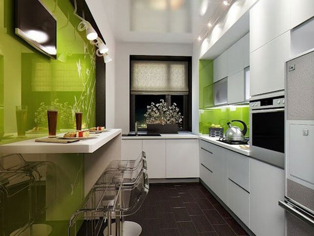 Кухня в стиле хай тек фото 3