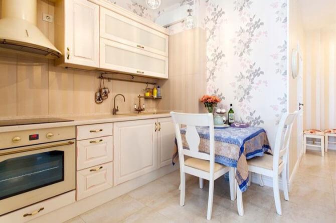 Кухня в стиле классика фото 3