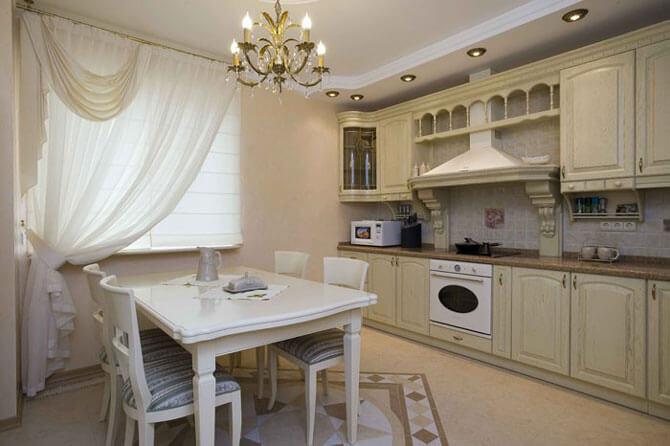 Кухня в классическом стиле фото 1