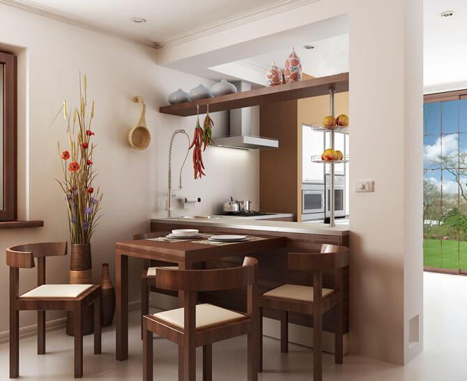 Кухня в этническом стиле фото 1