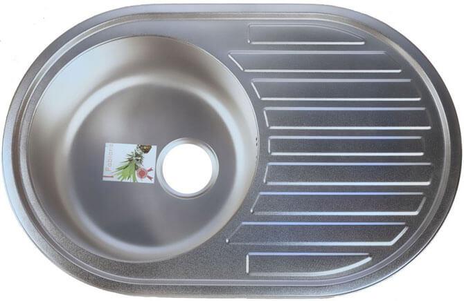 Матовая металлическая мойка для кухни фото 2