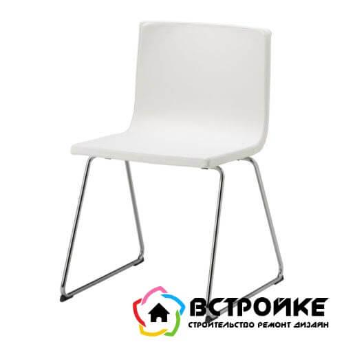 Хромированный стул БЕРНГАРД от Икеа