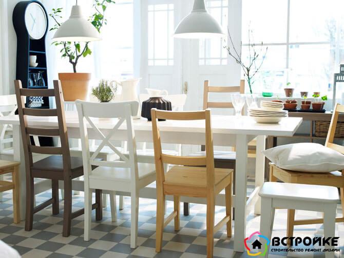Готовые столовые комплекты от Икеа